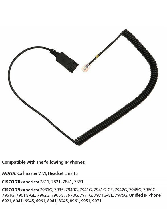 connection cord yellow mark